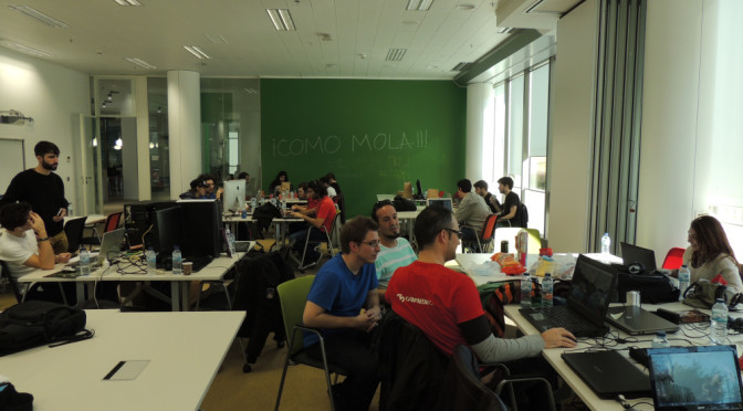Resumen de la Madrid Global Game Jam 2014